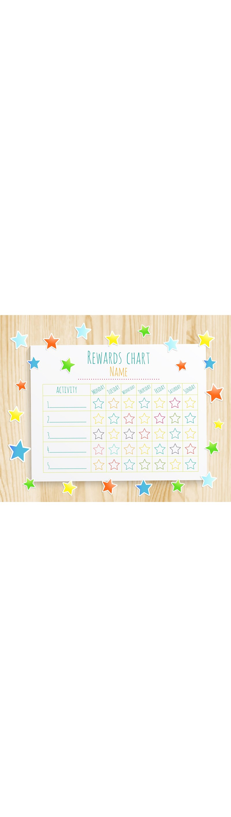 how to improve behaviour with a kids reward chart