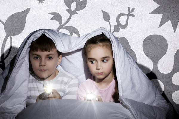 How to stop children being afraid of the dark