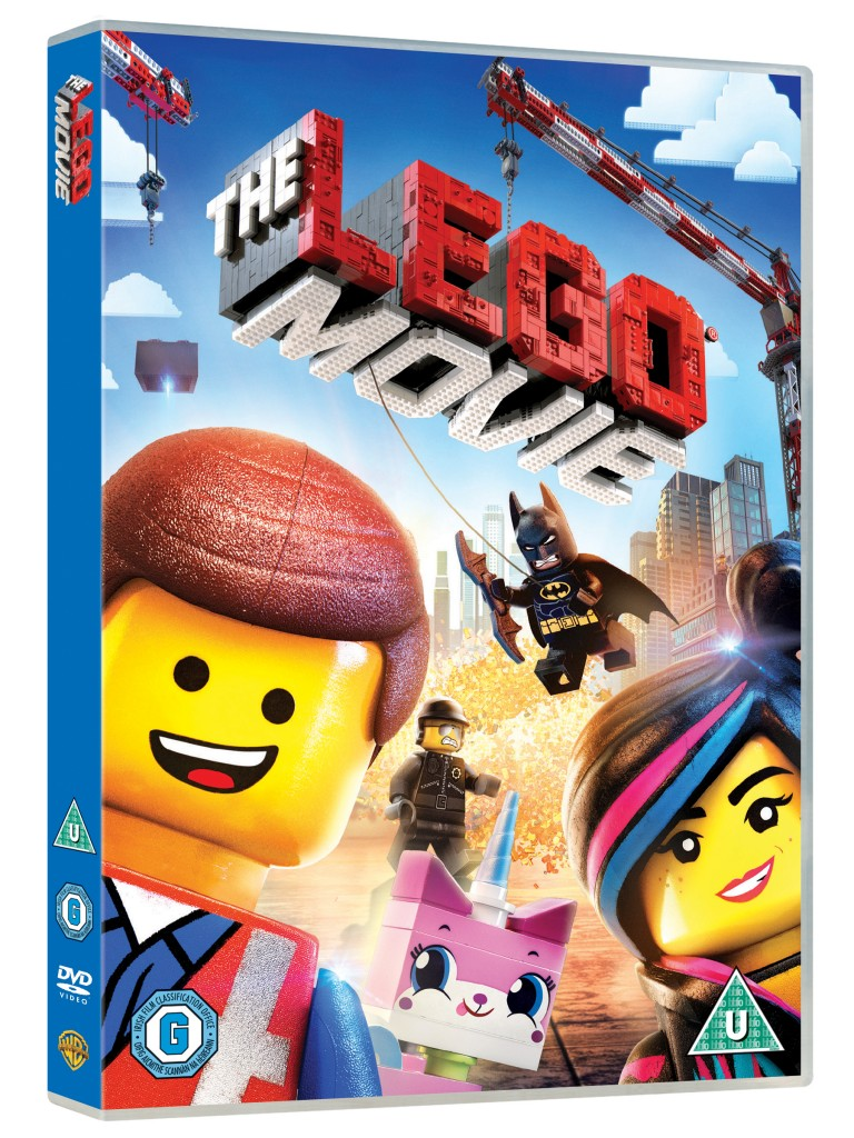 LEGO MOVIE DVD 3D FRONT 768X1024