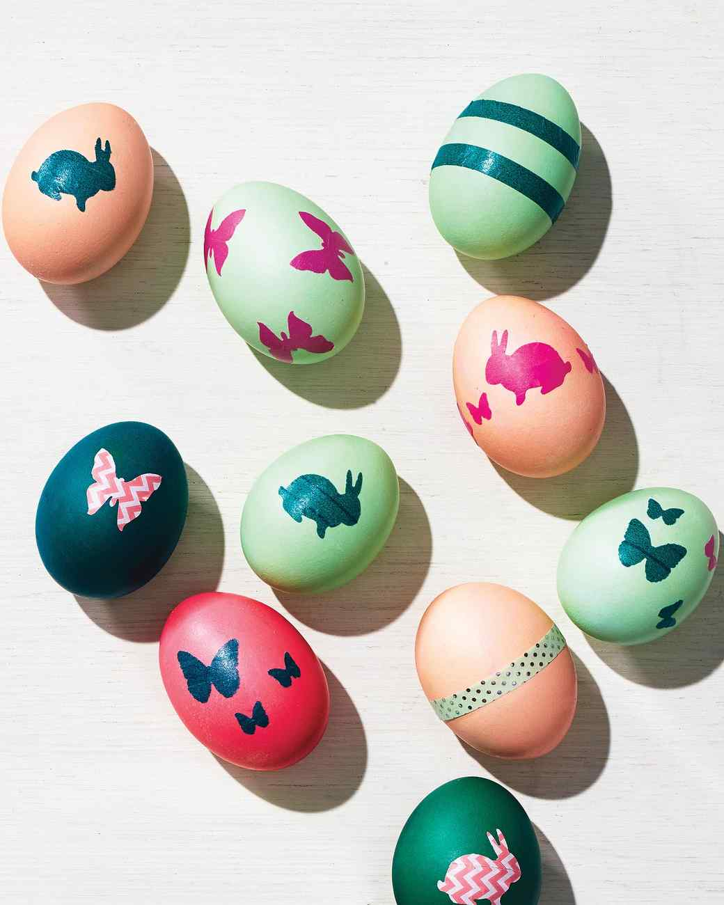 5 Washi Tape Eggs