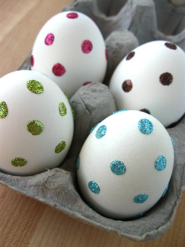 11 Spotty Sparkly Eggs