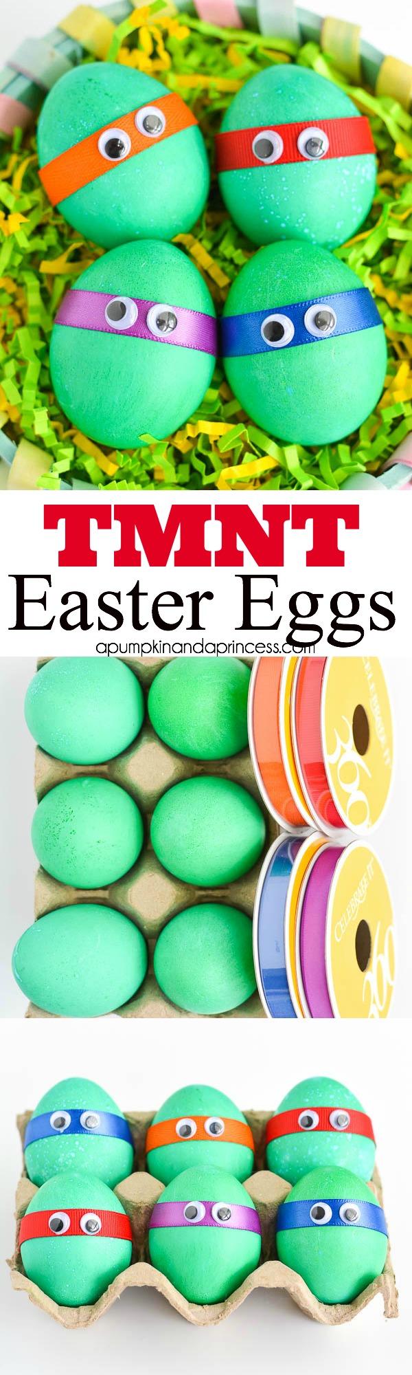 19 Ninja Turtle Eggs