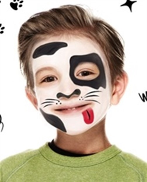 photo about Printable Face Painting Chart named 29 unbelievable experience portray strategies for little ones that oneself can do