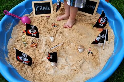 Sand Treasure Hunt
