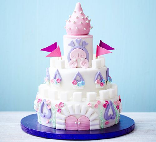 9 Princess Castle Cake