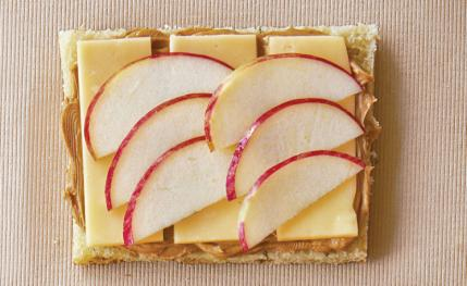 5 Apple Cheese PB Sandwich