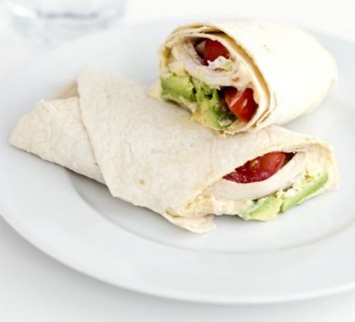11 Chicken Wraps