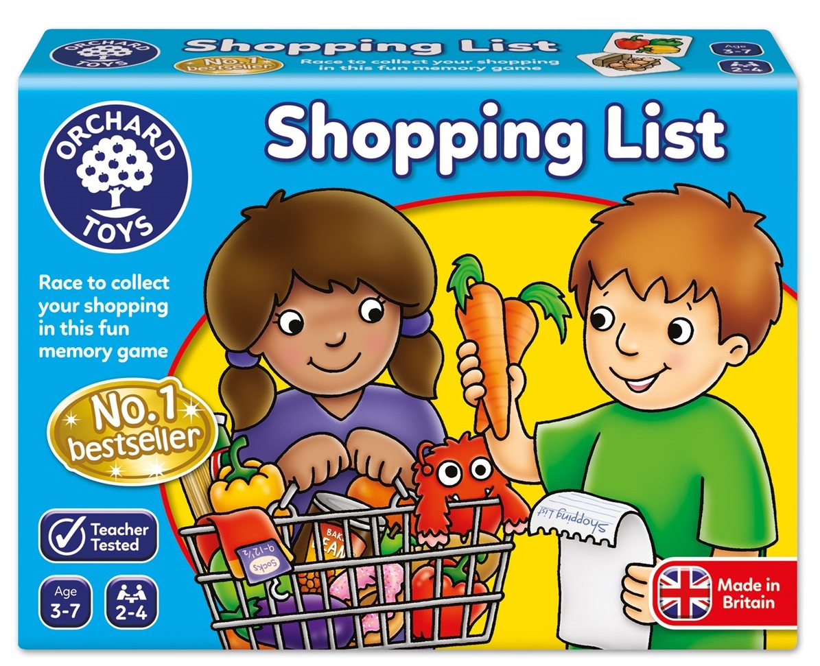 1 Shopping List