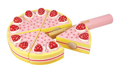 9 Strawberry Party Cake
