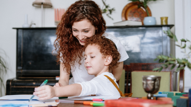Giving homework help to your child